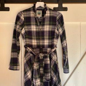 KJP Cozy Cabin Flannel Dress